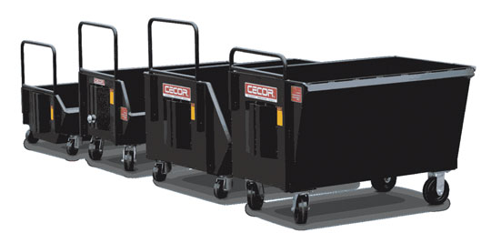 Heavy Duty Dumping Carts